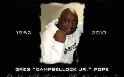 Legendario Greg Campbellock Jnr. (R.I:P)